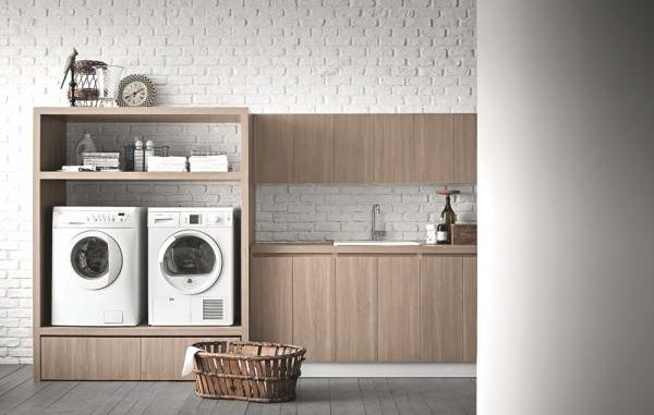 spazio lavanderia in casa