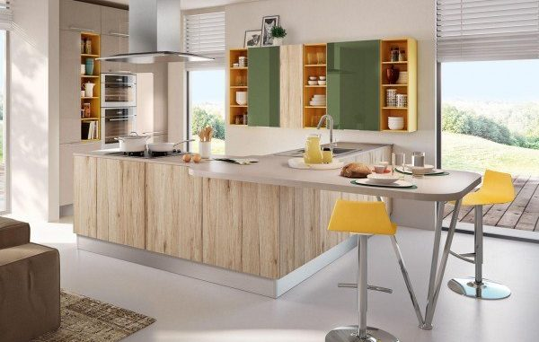 cucine bicolore